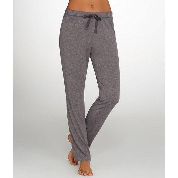 Calvin Klein Liquid Jersey Knit Lounge Pants ($20) ❤ liked on Polyvore featuring intimates, sleepwear, pajamas, full length, women, calvin klein pajamas, calvin klein, calvin klein sleepwear and jersey knit pajamas