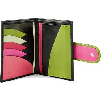 Ladies' wallet by Hester van Eeghen. LOVE the colors and design!