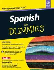 Spanish For Dummies (With CD)