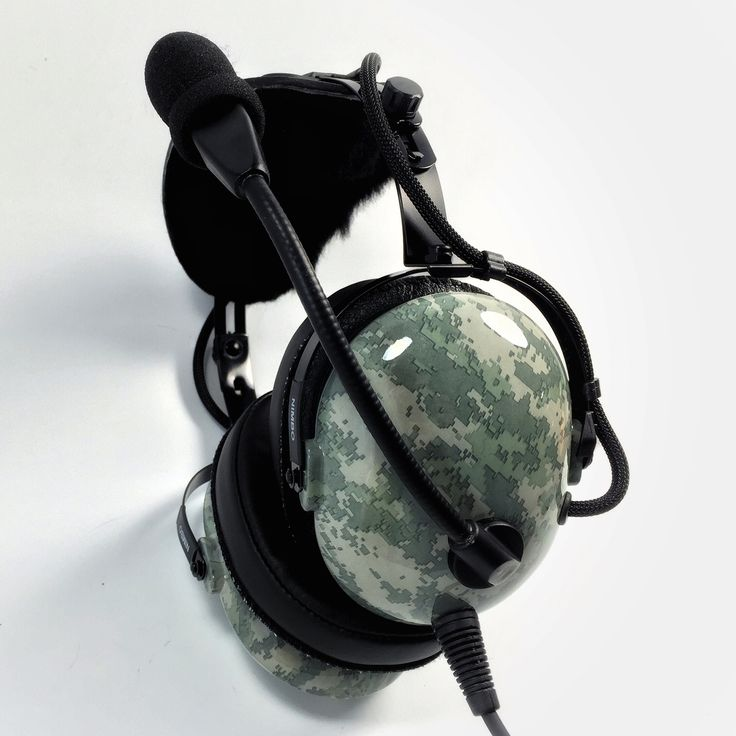 Nimbo PNR Aviation Headset - Digital Urban Gray Camo