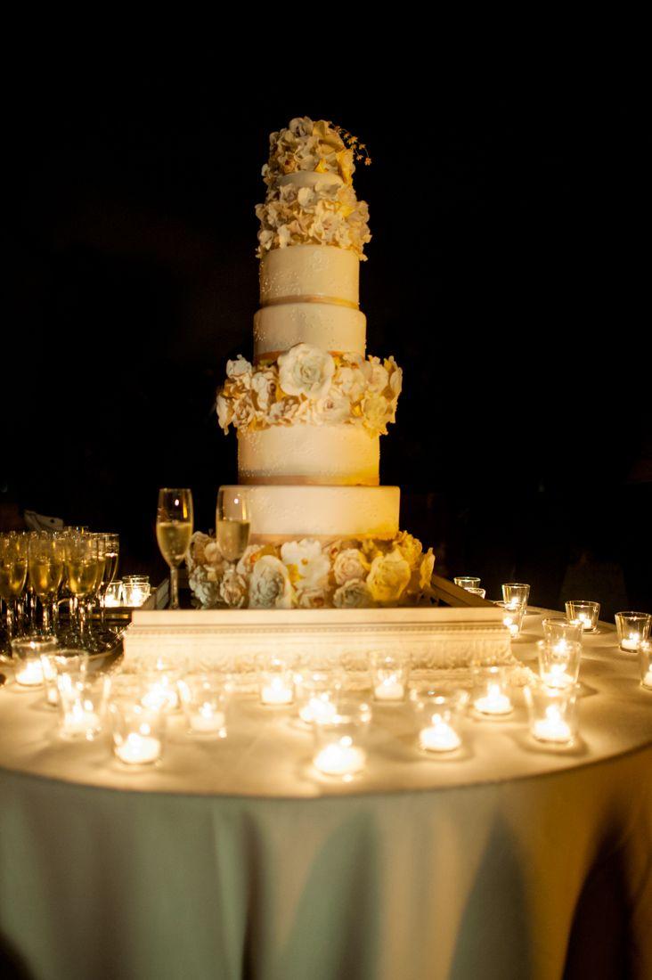 Beautiful wedding cake from melanie secciani !