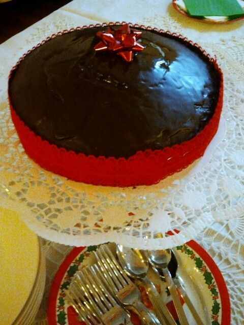 Just for fun! My Christmas cake  :-)