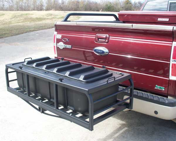 hitch mounted tool box 2
