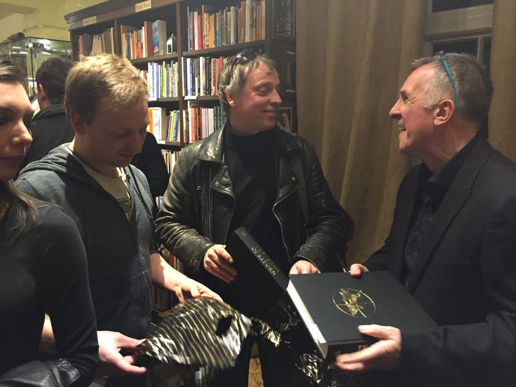 Book signing at Treadwell's Books 1st April 2017