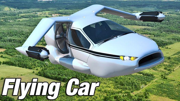 ► Flying Car - Terrafugia TF-X introduction