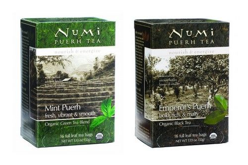 Stunning Puerh Teas from Numi for Mother's Day