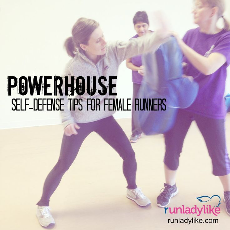 Powerhouse self defense tips for runners on runladylike.com