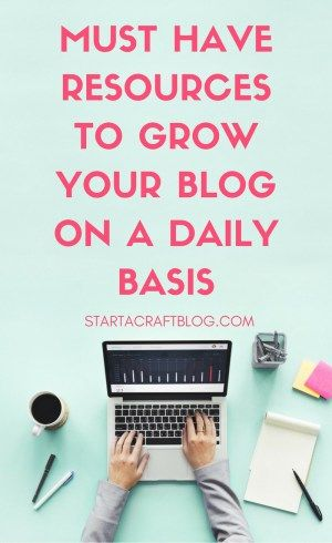 Boost Traffic By Using These Top Tools & Resources | Start A Craft Blog