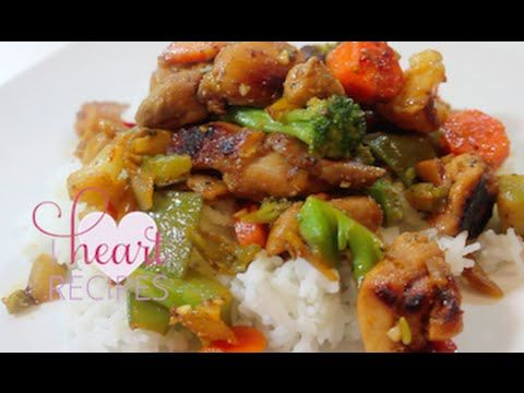 Dinner For Two: Honey Chicken & Vegetable Stir Fry - I Heart Recipes