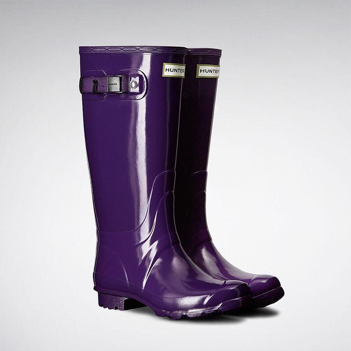 Hunter Women's Huntress Gloss Rain Boots