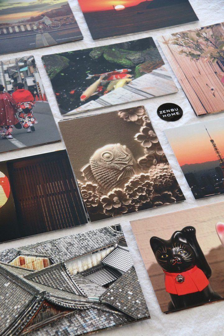 'Japanese Scenes' Card & Envelope Sets (10) - Zenbu Home