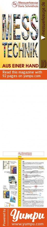 dsMesswerkzeuge-Katalog Nr10 PrintVersion - Magazine with 92 pages:   Winkelmesser   Neigungsmesser   Längenmessgeräte   Laser-Entfernungsmesser   Messtechnik an der Maschine und in der Werkstatt   Anreißgeräte   für den Treppenbauer   Messgeräte für die Baustelle   Nivelliergeräte und Laser-Nivelliergeräte   Freuchte- Temperaturmessgeräte   Ortungsgeräte   ECOLINE  