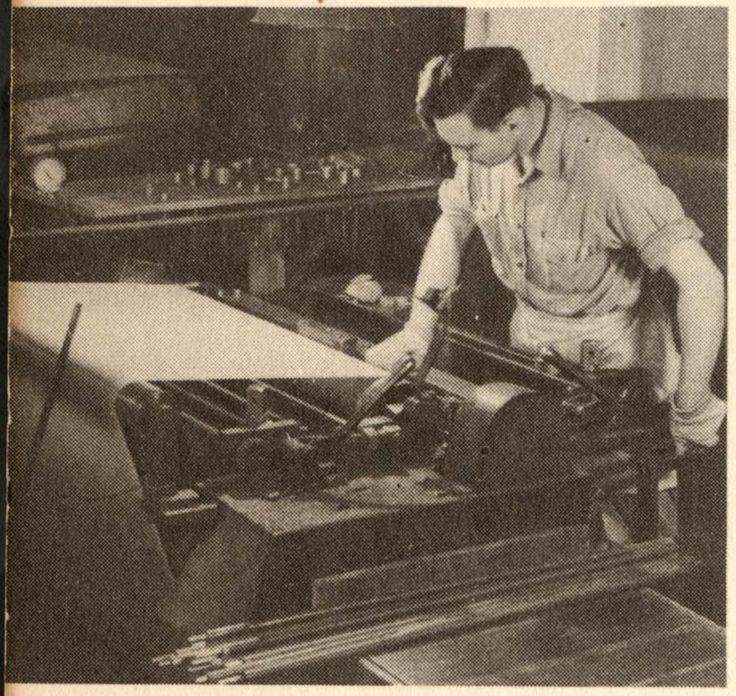 TBT - Old laminate press at Formica® Brand Laminate.