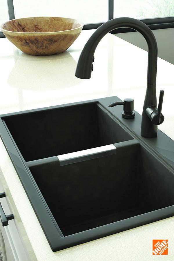 Best Undermount Kitchen Sink 2019 Matte Black Faucet Matte