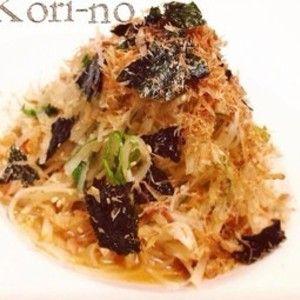 110kcal+抱えて食べる大根サラダ+by+コリーノさん+|+レシピブログ+-+料理ブログのレシピ満載! ボウルで抱えて食べるほど絶品の居酒屋風大根サラダです(^-^)