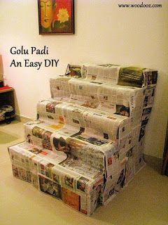 Golu Padi - An Easy DIY