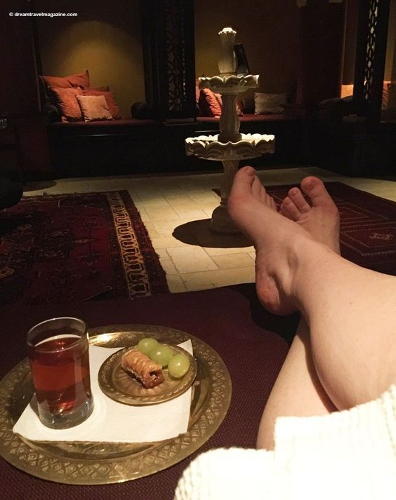 Miraj Hammam Spa by Caudalie Shangrila Hotel Toronto quiet room treats. A Middle Eastern escape for a morning at this luxury spa.