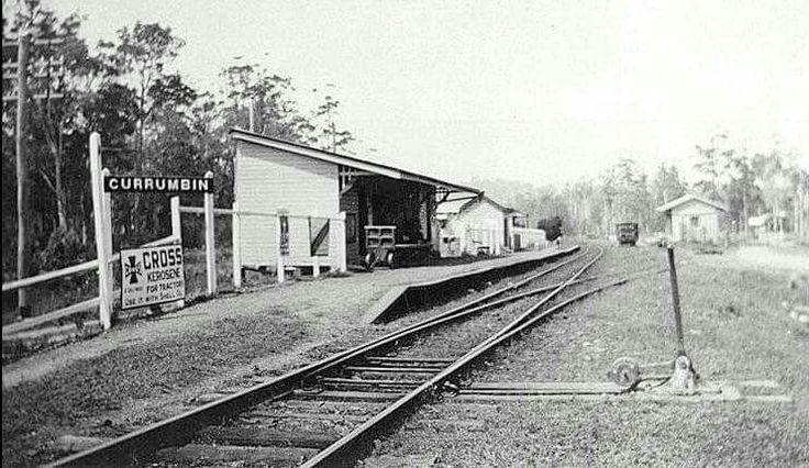 Currumbin Railway Station in Queensland (year unknown).