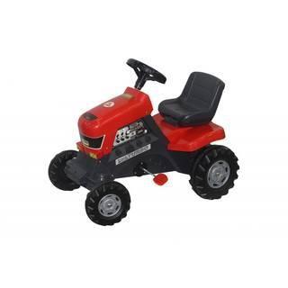 Coloma Turbo  — 5020р. ----------------------------------------- Выглядит эта игрушка как настоящая серьезная техника, с помощью которой ваш ребенок может играть и чувствовать себя взрослым и важным работником. Удобный маневренный трактор на педалях изготовлен из прочного пластика. Все детали выполнены из качественной пластмассы. Движется трактор с помощью педалей за счет  прочной системы цепного привода, развивая мышцы ног ребенка и координацию движений. Большие широкие колеса  c глубоким…
