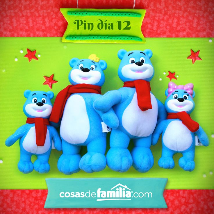Ideas para sorprender esta Navidad con Familia®. #Christmas #Navidad #Ideas #Osos