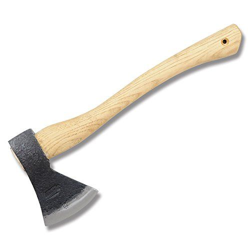 Marbles Outdoors Knives 701SB Camp Axe with American Hickory Handles. For product info go to:  https://all4hiking.com/products/marbles-outdoors-knives-701sb-camp-axe-with-american-hickory-handles/