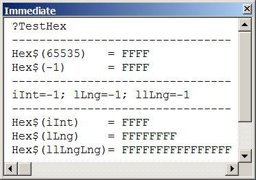 """15 • Funkcja #HexToDec Do konwersji  liczby  na postać heksadecymalną służy funkcja #Hex(liczba) zwracającą wartość typu String reprezentującą heksadecymalną (szesnastkową) wartość argumentu liczba. MS #Access i jego #VBA nie posiada wbudowanej funkcji dokonującej konwersję z zapisu postaci heksadecymalnej na postać dziesiętną. W tym celu można użyć funkcji  Val(""""&H"""" & ciąg) i znak deklaracji typu (sufiksów """"%"""", """"&"""", """"^""""), lub funkcje konwersji typu: np. CInt (""""&H"""" & ciąg), CLng(""""&H""""…"""