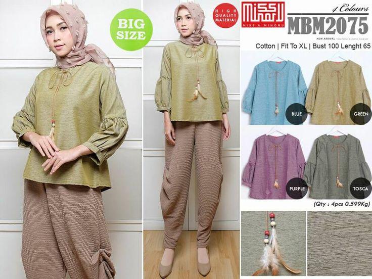 MBM2075 Rp 58000 x 4 = Rp 232000  Pembelian minimal 1 seri warna untuk 1 model baju (1 seri adalah semua warna di foto)  Order/pemesanan : BB pin : 5ADF1992 WhatsApp 081999372535 (klik http://bit.ly/OrderWhatsappInidiaGrosirCS1) www.pusatgrosirbajuwanita.com IG @pusatgrosirbajuwanita Telegram channel : http://t.me/grosirbajuwanita  #fashion #grosirbaju #grosirbajumurah #grosirbajuhijab #grosirbajumurmer #grosirbajumuslim #grosirbajumurahtanahabang #grosirbajumuslimah #grosirbajumuslimahmurah…
