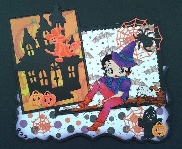 Les cartes de Blueberry: Sorcière d'Halloween
