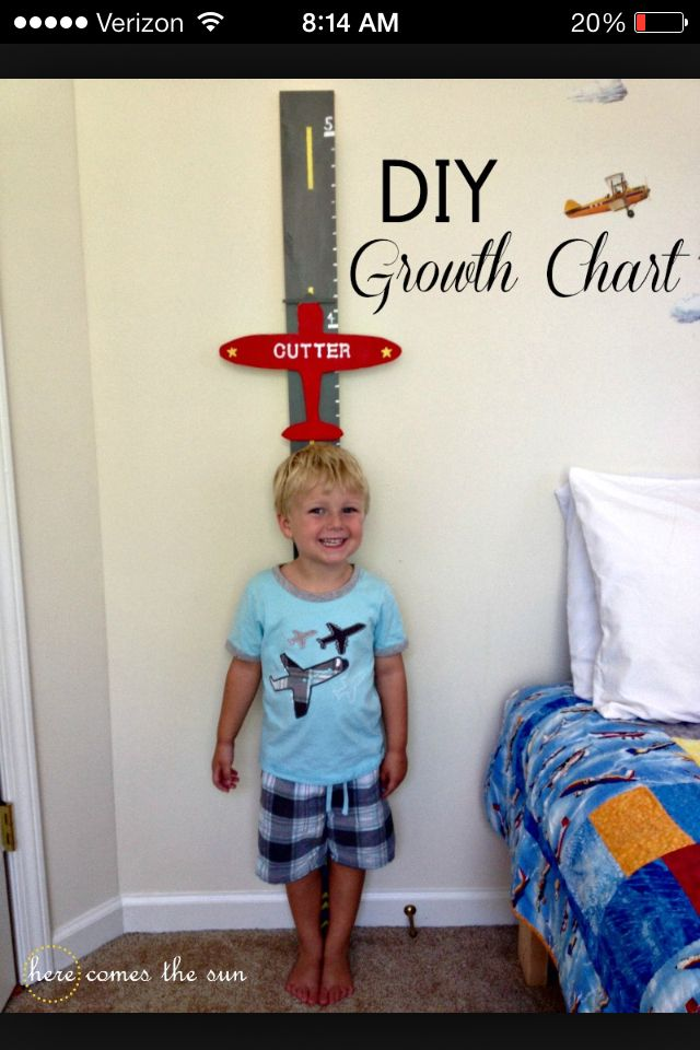 Growth chart idea