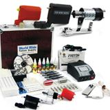 Looking to buy Rotary Tattoo Kit to help with a great Tattoo job? Find it here at Worldwide Tattoo Supply.