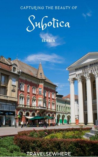 Capturing the beauty of the Art Nouveau architecture of Subotica, Serbia via @travelsewhere