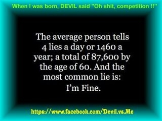 The Average Person.......