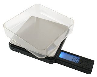 Homebrew Finds: American Weigh Black Blade Digital Scale 1/100th Gram Resolution - $13.20, Record Low