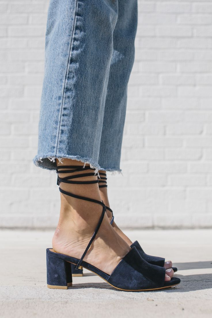 These are the perfect suede heels!