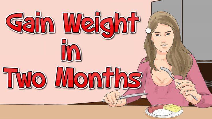 Here you will get steps of how to gain weight in two months. Gaining weight can be harder than losing weight for some people. You'll need to adjust your calorie intake and exercise pattern to help support weight gain. Figuring out how many calories you