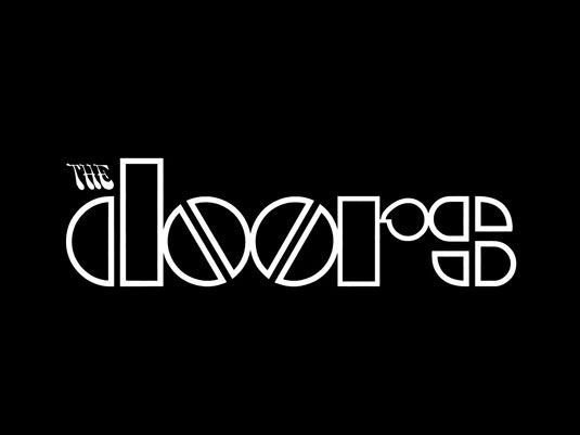 Band logo designs - The Doors