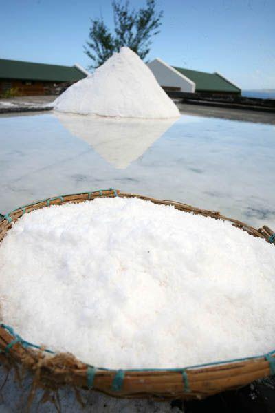 Pointe au Sel Musée du Sel - C'est une découverte et une visite unique à La Réunion. La Pointe au Sel à Saint-Leu permet l'exploitation d'un sel de qualité exceptionnelle.