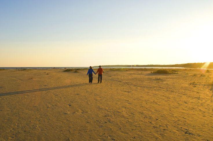 Singing Sands - Bruce Peninsula National Park of Canada