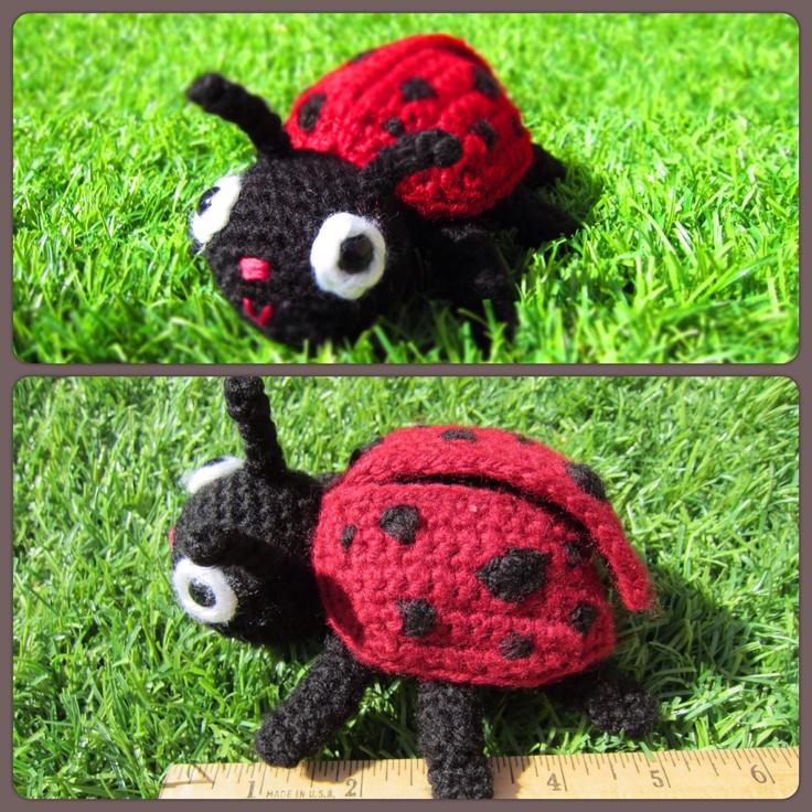Amigurumi Ladybug : 17 Best images about Crochet- My Amigurumis on Pinterest ...