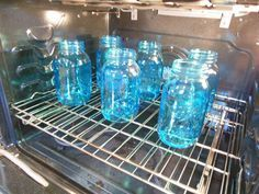 Easiest way to tint glass with only 3 ingredients. Mason jars, candle sticks, up cycled jars