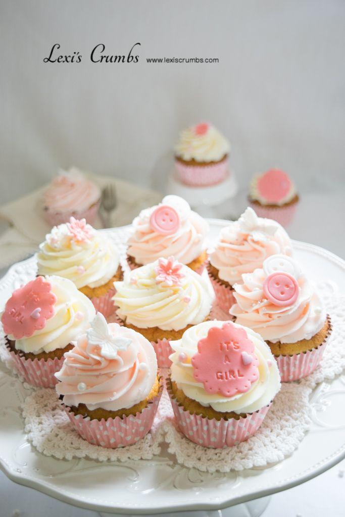 Baby shower cupcakes www.lexiscrumbs.com