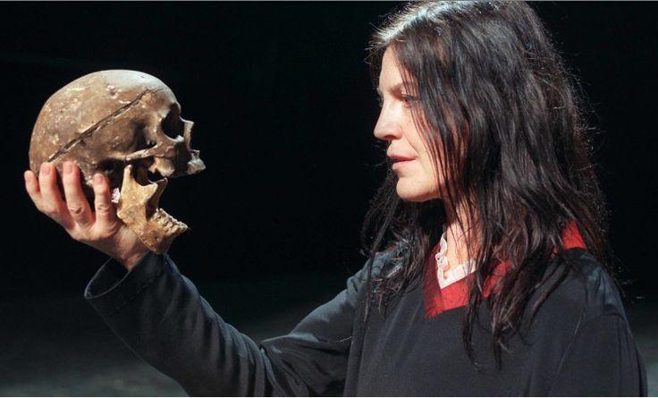 Angela Winkler as Hamlet, in 1999, directed by the great german director Peter Zadek.