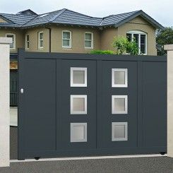 Aluminium sliding gate EMALU DAYTON