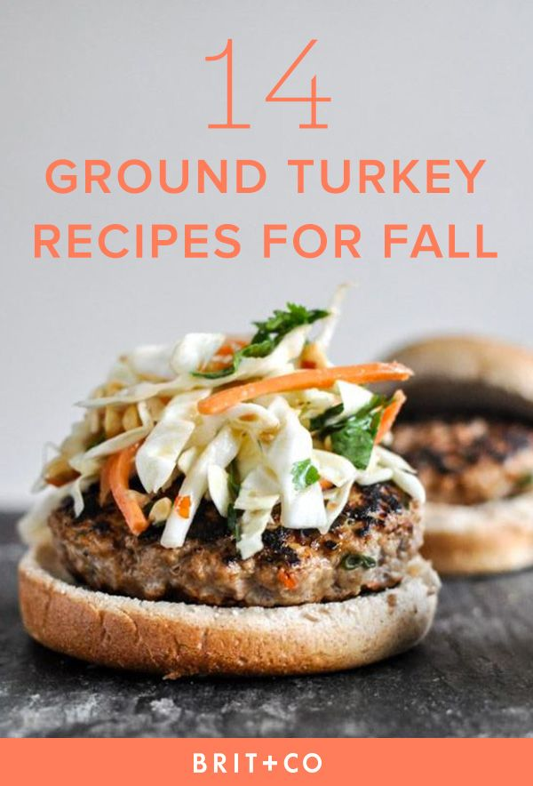 Try these 14 ground turkey recipes year 'round for a different take on your favorite meat dishes.