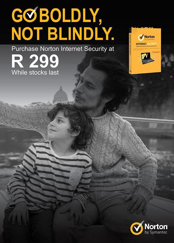 Norton Advert | I.C by Sinead Queiroz Fourie, via Behance