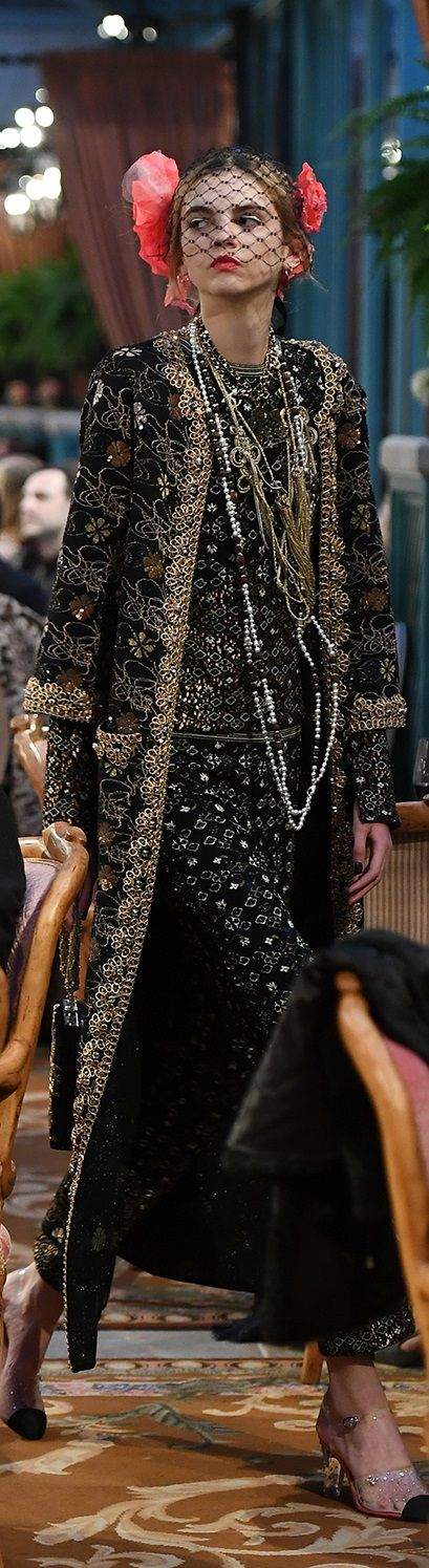 Chanel prefall 2017 show in Hotel Ritz Paris