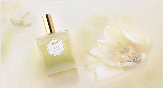 ハナヒラク/ HANA HIRAKU パルファンサトリ最新作 http://parfum-satori.com/jp/collection/hanahiraku.html