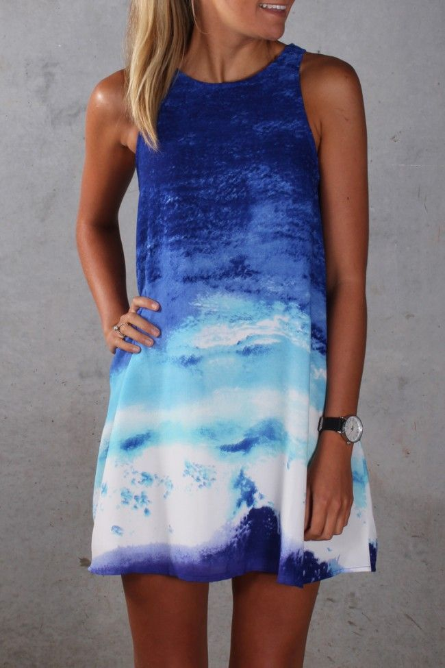 Floating In The Waves Dress