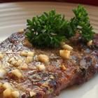 Grilled Sirloin Steaks with Garlic Butter. Made this tonight and everyone loved it.