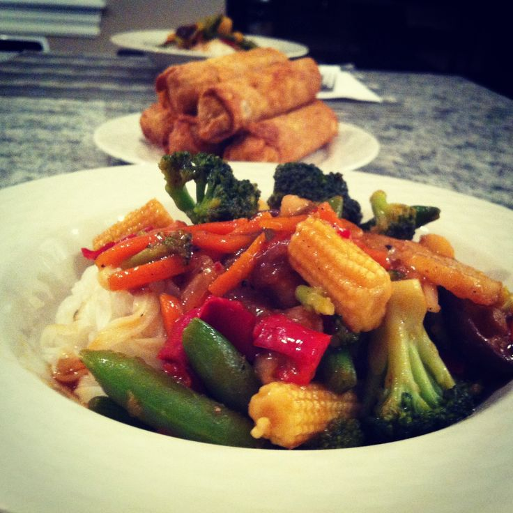Vegeterian pad thai